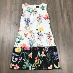 Adrianna Papell Floral Sleeveless Dress 4